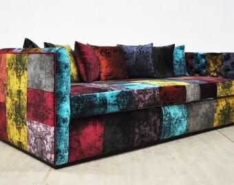Gothic Patchwork Sofa