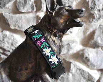 Dog Collar - Edelweis -  50% Profits to Dog Rescue
