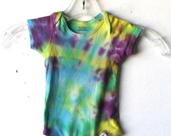 vintage tie dye GRATEFUL DEAD psychedelic ONESIE bodysuit