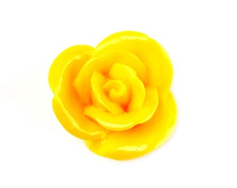 Yellow Rose Lapel Pin