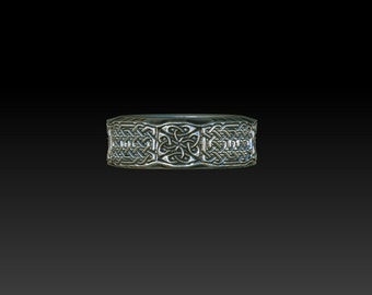 wedding ring celtic wedding ring  celtic ring  celtic band celtic wedding band ZB13B