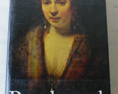 vintage book, Rembrandt, by Horst Gerson,large art book, 1968, from Diz Has Neat Stuff