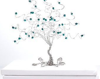 Business Card Holder Tree Custom Sculpture in Any Color Combination