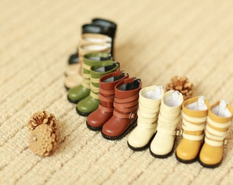 Miss yo handmade Straps Boots for YoSD 1/6 BJD - doll doll shoes - 6 colors in