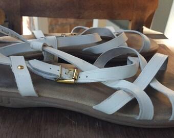 SWIM    ///    Leather Bass Sandals