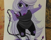 Steven Universe Amethyst Painting