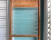 Washboard - Glass - Howard Woodenware - Crown Glass