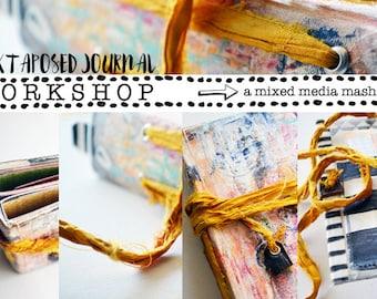 Juxtaposed Journal - an Online Workshop