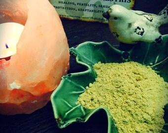 TRIBULUS TERRESTRIS Dried Powder Herb, Witches Apothecary