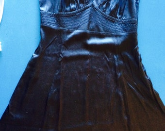 SILK Petticoat/Dress - Deep Gray - IT 42/US 4