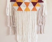 Woven Tapestry / 70s (Made to Order) / Hand Woven Wall Hanging