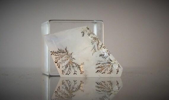 Dendritic Quartz Free Form Faceted Loose Gemstone 8.55 carats DanPickedMinerals
