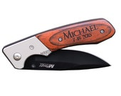20 Personalized Knives, Personalized Groomsmen gifts, Engraved Pocket Knife, Best Groomsman gifts, Hunting Knife, Gifts for Ushers, Custom