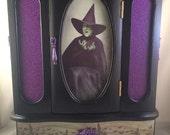 Wicked Witch of the West Wizard of Oz Jewelry Box