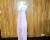 Beautiful PURPLE LACE LINGERIE Nightgown