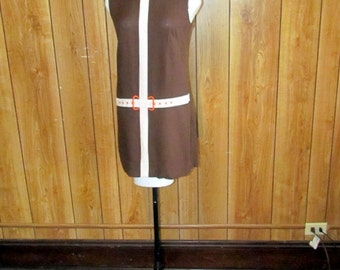 Adorable 1960's MOD SHIFT Dress