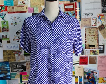 XMAS in JULY SALE : 1980s nordstrom blouse
