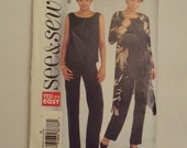 Women Spring Summer Sewing Pattern - uncut - Three piecesSee & Sew - sizes 8 - 24 - Butterick Sewing Pattern B4329