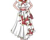 Fashion Illustration, Bright Summer Style, Fashion Wall Art