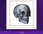 Skull Cross Stitch 'Happy skull' cross stitch kit