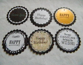 Gift Tags - set of 6 -