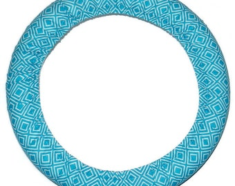 Blue Steering Wheel Cover-Cute Car Accessory-Girly Car Decor-Blue Car Accessory-Car Steer Wheel Cover