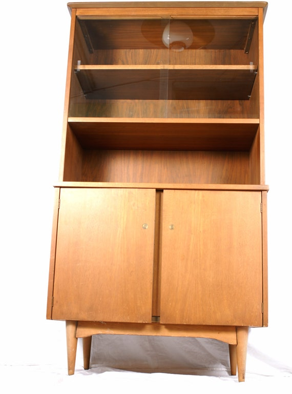 Small Mid Century Living Room: Small Mid-Century Modern China Hutch