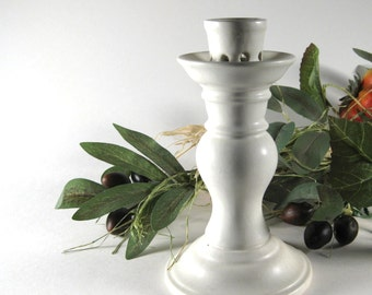 Vintage Ceramic Candlestick Made in Portugal