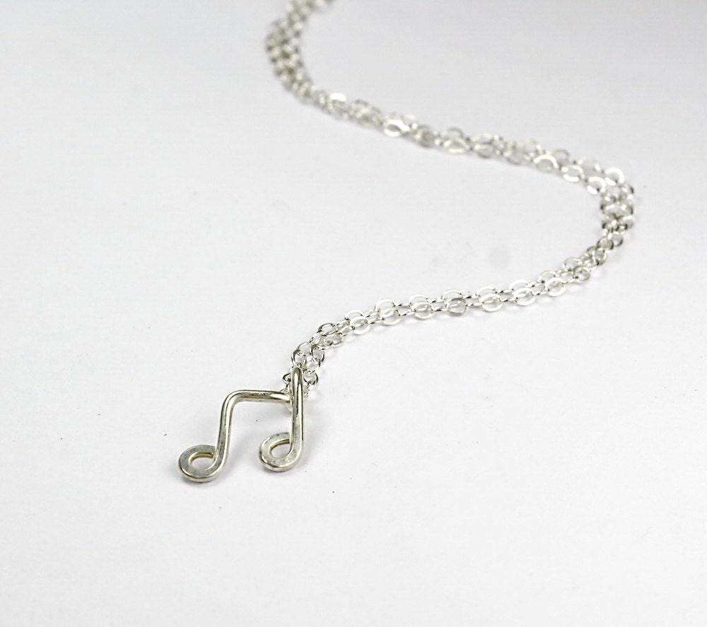 Musical Symbol Necklace