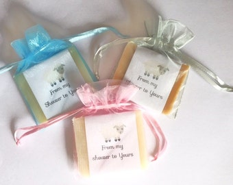 Little Lamb Theme Soap Baby ShowerFavors