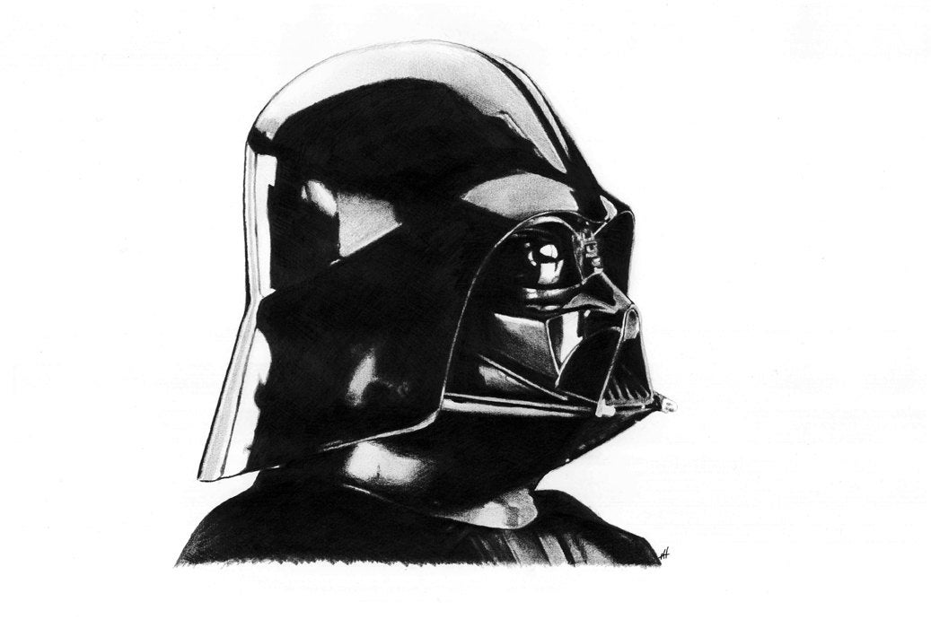 DARTH VADER pencil drawing