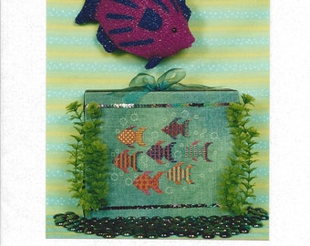 "Clearance - ""Ocean Jewels"" Counted Cross Stitch by Liberty Street Designs"