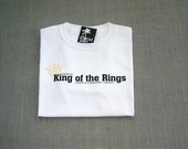 King of the Rings Ring Bearer Personalized Wedding T-Shirt