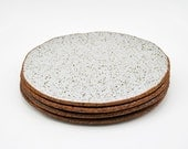 Ceramic Side Plate - Stoneware Plate - Rustic Pottery Plate - Ceramics and Pottery - MADE TO ORDER