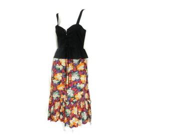 Bohemian Lace up Sun Dress with Peplum Nicole Miller Dress for PJ Walsh