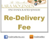 Re-Delivery Shipping Fee- This is for returned items