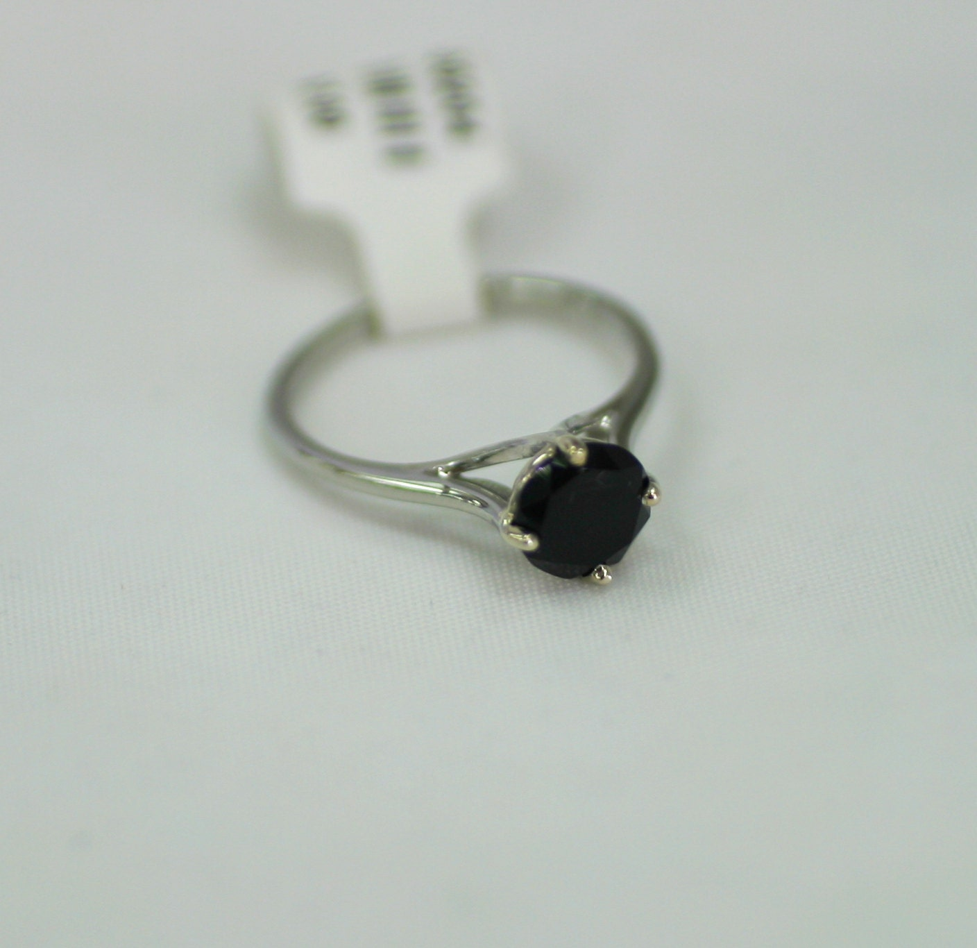 Elegant Black yx Alternative Engagement Ring by marrymejewelry