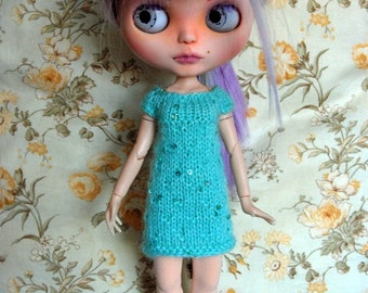 Blythe Doll Knitted Tunic Dress