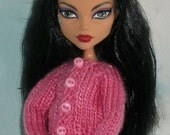 Long Sleeve Cardigan For Fashion Dolls