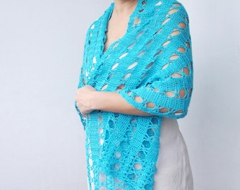 Bolero Scarf Shawl Neckwarmer Crochet Pattern : Crochet pattern scarf lacy caplet shrug shawl by byaccessorise