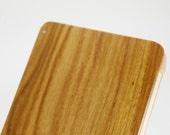 Wood Business Card Holder (Canarywood)