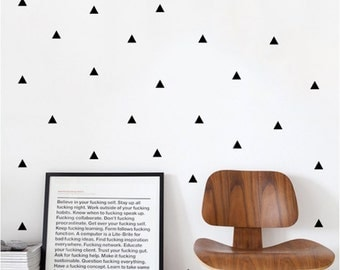 Triangles - Wall Stickers - Pattern Sticker