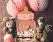 Baby Shower Guest book alternative or Birthday, Nursery Decor Wall Art