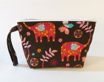 Elephant Pride Makeup Bag - Accessory - Cosmetic Bag - Make Up Bag - Pouch - Toiletry Bag