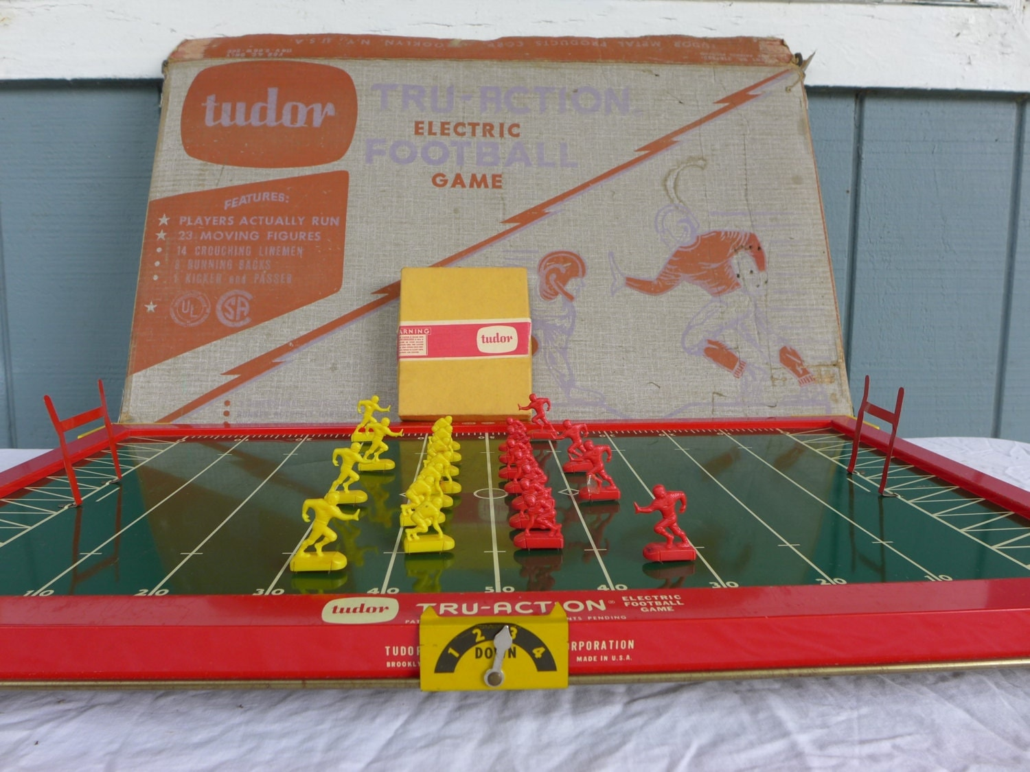 e70a4502 1950s Electric Football Game Related Keywords & Suggestions - 1950s ...