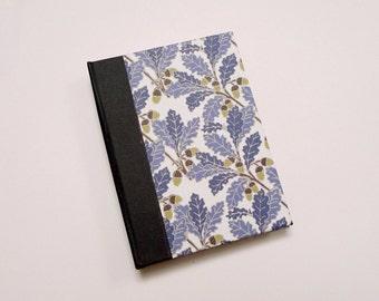 Blue Oak Pattern A6 Sketchbook