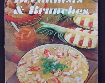 Paperback-Sunset Breakfasts & Brunches Vintage Cookbook