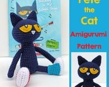 Popular items for pete the cat on Etsy