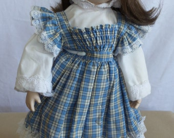 Vintage  Doll Porcelain Collectible Google Eyes