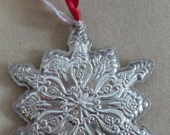 Sterling Towle 1993 Snowflake Ornament